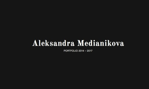 Buchgestaltung für die Kamerafrau und Fotografin Aleksandra Medianikova