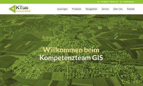 Webdesign und Wordpress-Entwicklung für für KTGIS